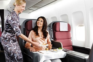qantas-meal-service