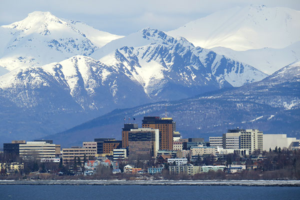 Los Angeles CA USA (LAX) – Anchorage AK (ANC) from $264 Round Trip
