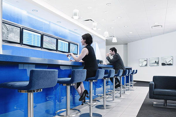 NY-LON Lounge Bar by Virgin Atlantic and Delta Prepares for Take-off