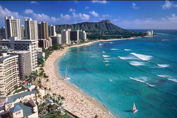 Los Angeles CA USA (LAX) – Honolulu HI USA (HNL) from $341 Round Trip