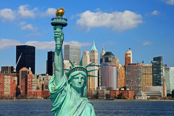 Stockholm Sweden (ARN) – New York NY USA (JFK) from 2,655 SEK Round Trip