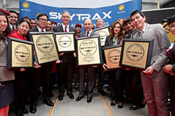 Oneworld Named Skytrax's Best Airline Alliance for Third Year in a Row