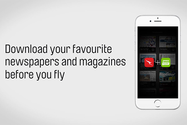 Qantas Gives Customers Access to Thousands of Magazines and Newspapers